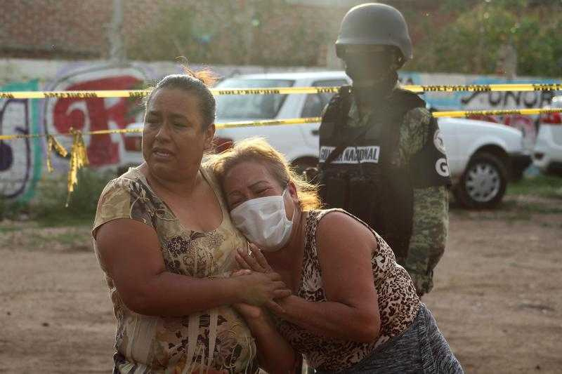 瓜納華托州是近年來毒品暴力最嚴重的地區之一,也是墨西哥殺人案件最多的州。(圖/Reuters)