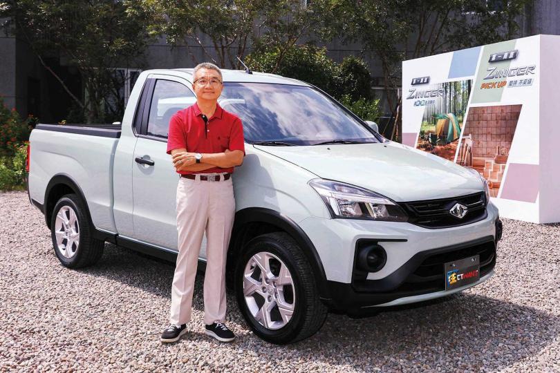 中華汽車總經理陳昭文指出,為了搶攻青年族群市場,特別推出青松綠款式,希望能帶來每個月150輛車的銷量。(圖/報系資料庫)