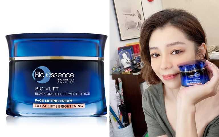 Bio essence BIO V逆齡緊膚霜(加強緊緻透亮) 45g/1,190元(圖/翻攝徐若瑄IG、品牌提供)