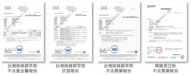 PPLs®超視王通過了多項檢驗報告