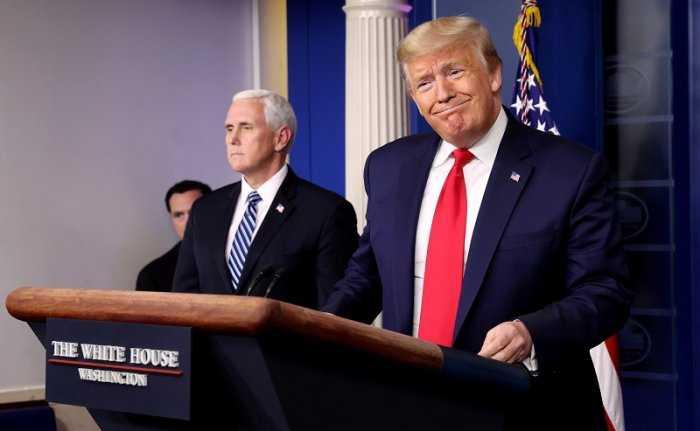 美國總統川普就抨擊WHO接受美國經費卻「以中國大陸為中心」!(圖/Reuters)