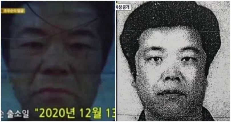 南韓電視台不顧被開罰,披露趙斗淳容貌提醒民眾。(圖/翻攝自SBS)