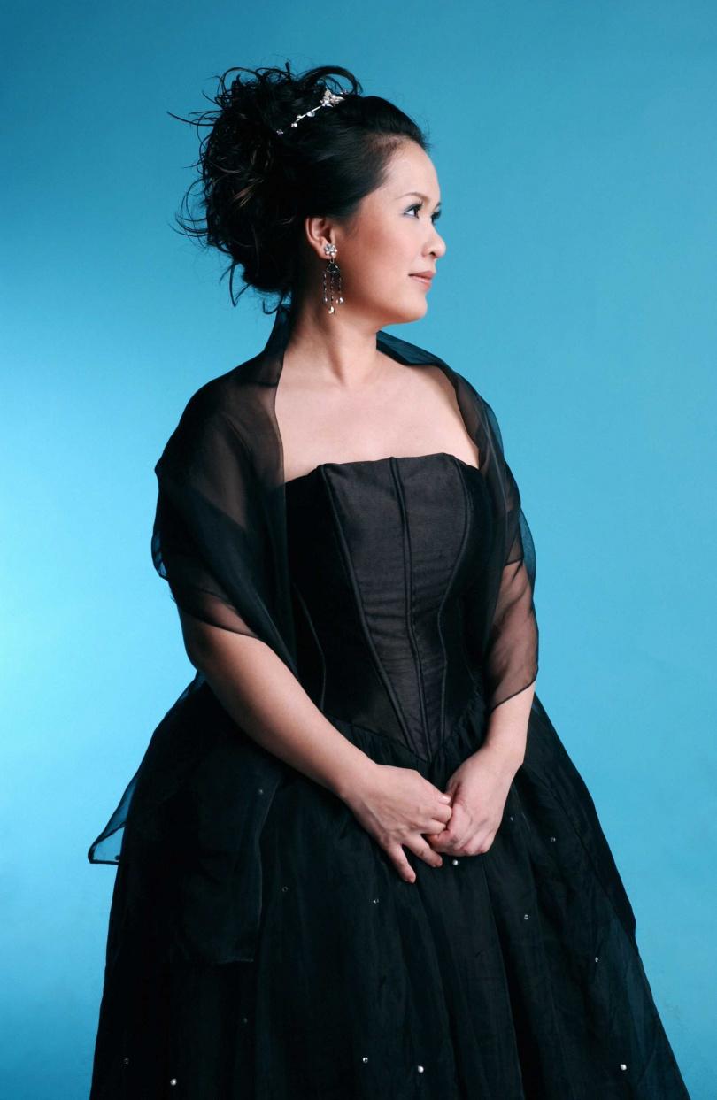 留美女高音黎蓉櫻教授將在台中教育大學121週年校慶音樂會上一展歌喉。(圖/翻攝畫面)