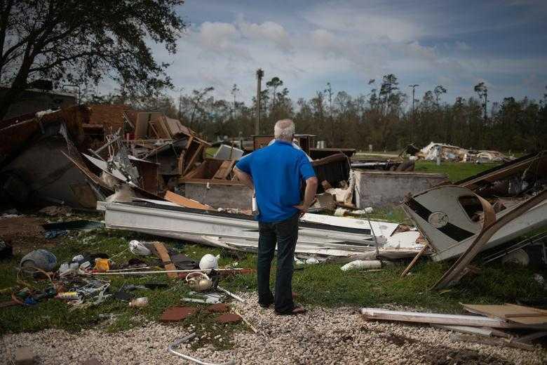 風災造成至少6人死亡。(圖/Reuters)