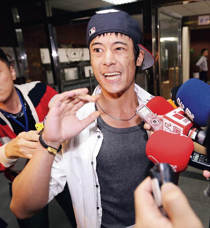 2013年蔣友青曾涉嫌恐嚇美國學校,脫序舉動令人印象深刻。(圖/報系資料庫)
