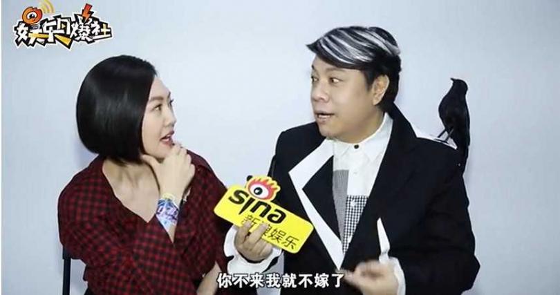 蔡康永透露林志玲「差點不嫁」內幕。(圖/新浪娛樂微博)