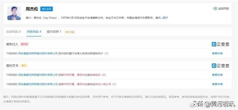 周杰倫在中國持有15%股份的「真愛范特西KTV」遭控侵權。(圖/翻攝自微博)