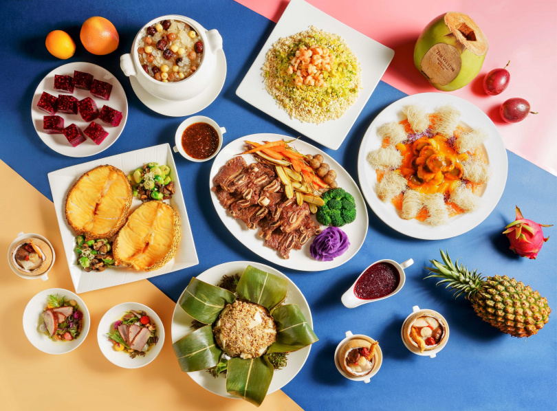 創意繽紛的水果佳餚,讓饕客們擁有驚豔一「夏」的活力。(圖/桃園大溪笠復威斯汀度假酒店提供)