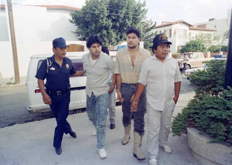 倖存的邪教成員在墨西哥城被捕。(圖/翻攝自AP)
