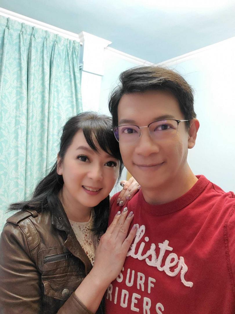 谷懷萱和徐展元感情甜蜜。
