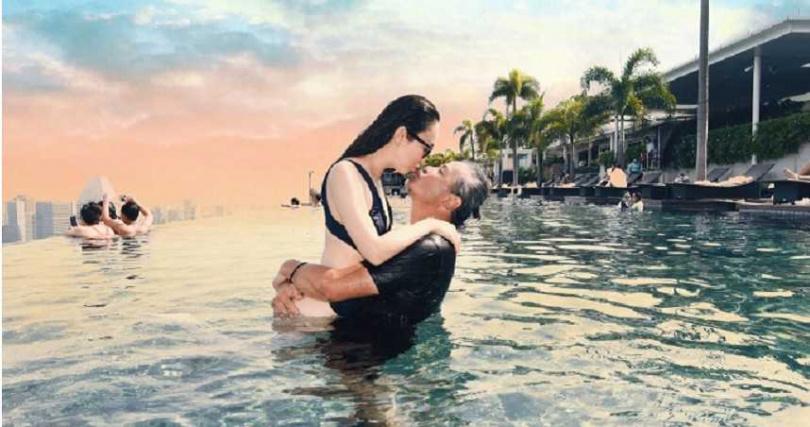 范文芳和李銘順結婚11年,感情依舊幸福甜蜜。(圖/翻攝自范文芳微博)