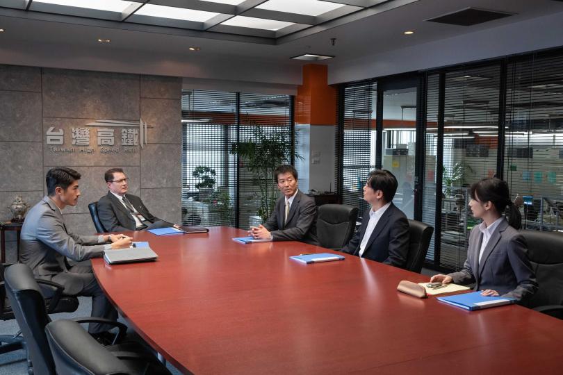 高鐵與日本方針對開發案進行會議。(圖/公視提供)