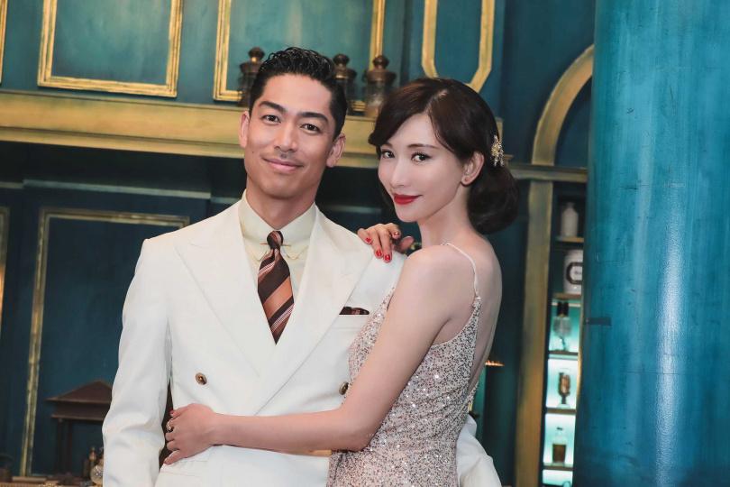 林志玲去年在台南舉行盛大婚禮。(圖/報系資料照)