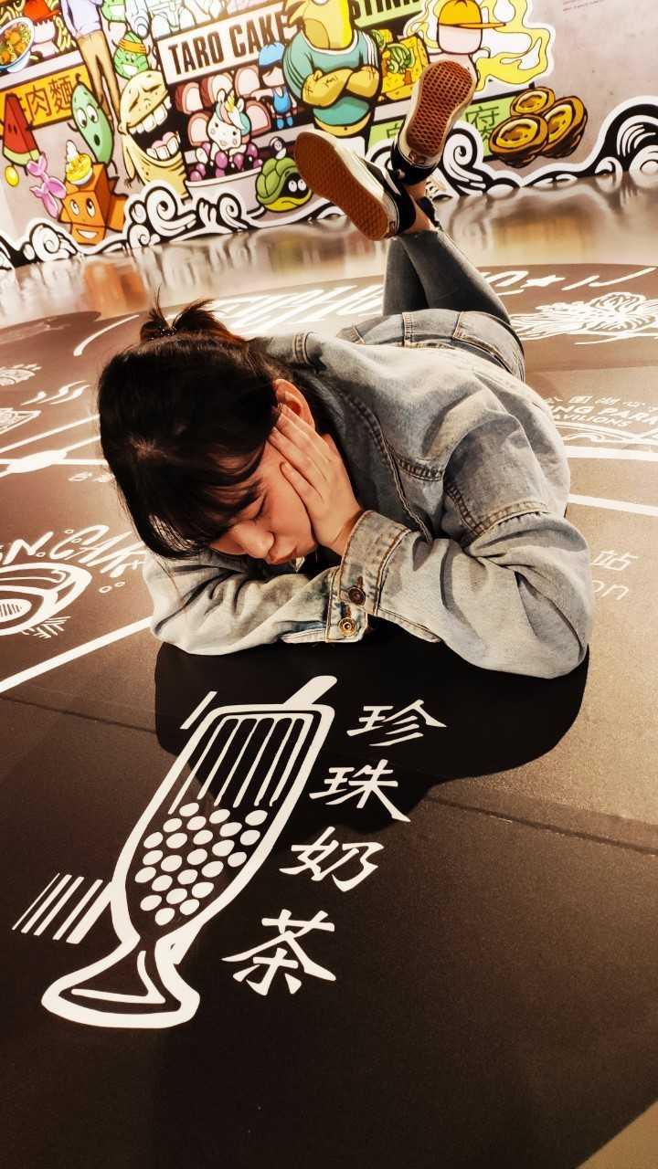 融入夜市在地飲食元素的塗鴉創作,也是展場打卡區。