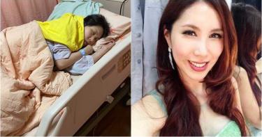 余苑綺癌症復發「抱病過38歲生日」!女兒搶許「7字願望」惹哭網