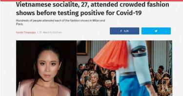 時尚圈淪陷?越南名媛看秀回國「雙確診」 何超儀出席同場合