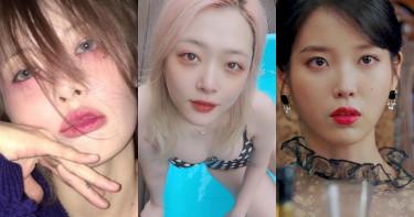 雪莉性感誘惑、炫雅宿醉妝、IU無辜哭妝 都靠莓果紅眼妝打造