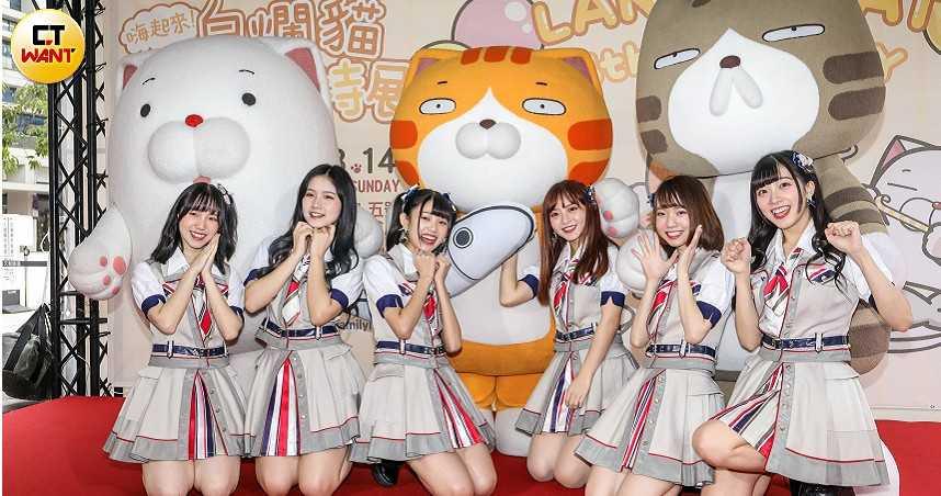 AKB48 Team TP陳詩雅入團5年有感 耶誕前夕嗨看「白爛貓」特展