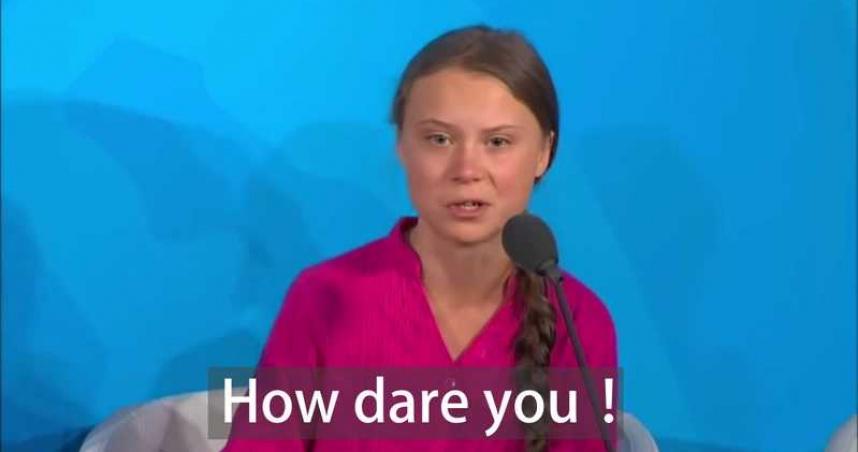 「豪爹油」驚人內幕曝光?瑞典環保少女18歲生日 推特發文諷刺「陰謀論」