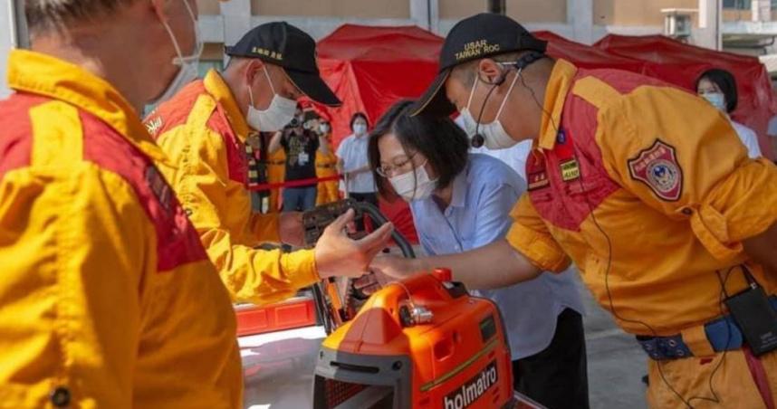 921地震22週年也是國家防災日 總統宣誓防救災工作沒有最好只有更好