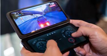 LG推雙螢幕手機 外觀像極掌上遊戲機