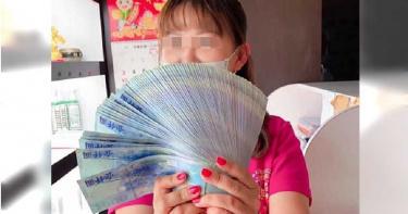 【南霸天破功4】聚餐炫富拉下線 女業務千元大鈔當扇子