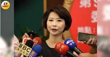 傳準備2022年台南市長選舉 陳亭妃沒否認但「言之過早」