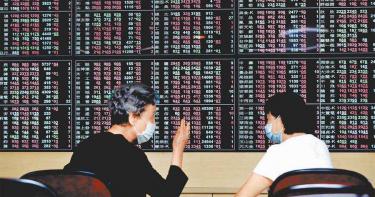台股早盤破新高13,100點 投資人宜「高度警覺」