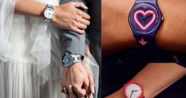 芯動錶白時刻!佩戴對錶完美放閃,攜手共渡浪漫情人節慶