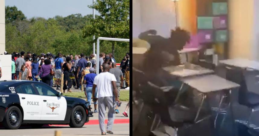 美國高中生打架竟「掏槍射擊」 4傷1命危…懷孕老師也在列