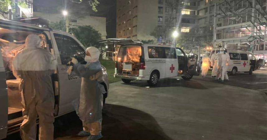 桃園醫院「緊急淨空」轉送到半夜 現場畫面曝光…感動噴淚