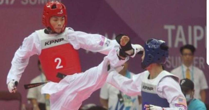黃鈺仁出戰伊朗跆拳名將 第三局二度平手!最終3分落敗無緣8強