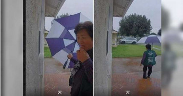 美國華裔大媽「口水抹門把」! 網驚:移動的生化武器?