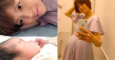 12年改嫁3個老公! 44歲女星「高齡產下第4胎」嘆:很辛苦