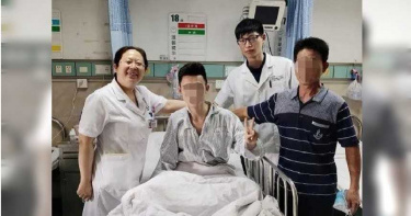 23歲男子「打個哈欠」肺就炸了! 「全身一半血」幾乎流光險死