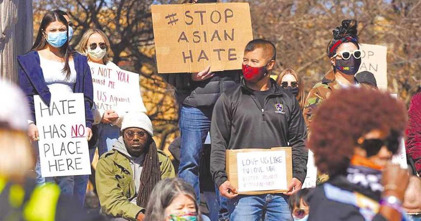 亞特蘭大槍擊案延燒 美出現「反歧視亞裔」遊行示威!高舉:「我們不是病毒」