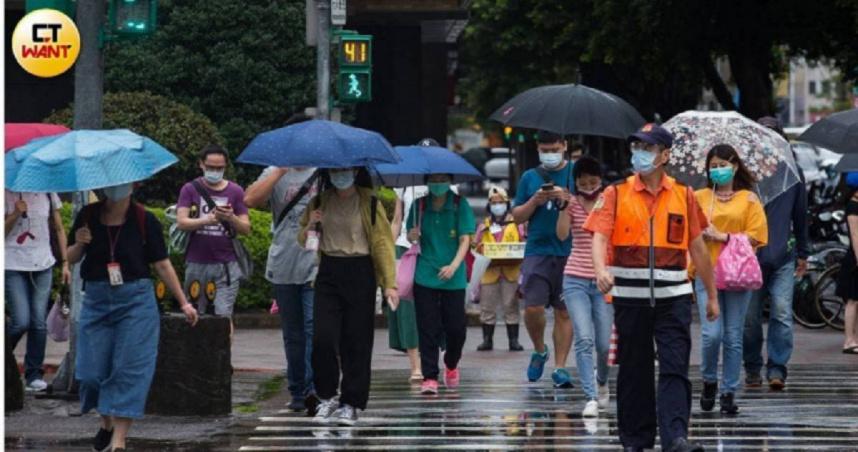 北北基9縣市豪、大雨特報 「圓規颱風」今明影響最明顯