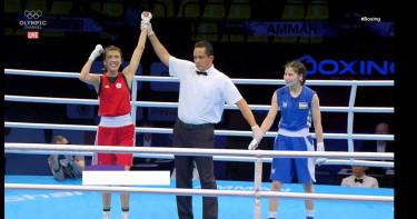 黃筱雯4:1輕取拉齊莫娃 拿下2020東奧拳擊門票榮膺頭號種子