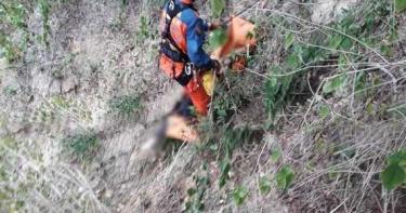 苗栗男追失聯空拍機發生不幸 墜谷80米深罹難