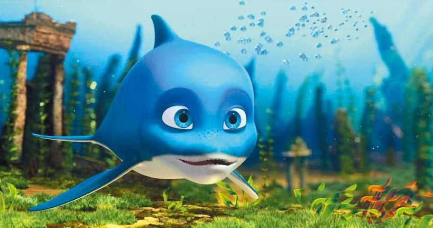 在俄上映奪票房冠軍 《海豚總動員》探索深海童話