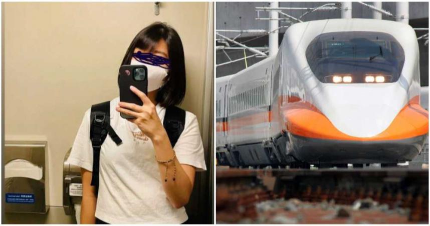 買不到高鐵票「霸佔廁所」乘客尿急也不理 她爽喊:別再敲了,不會出去的