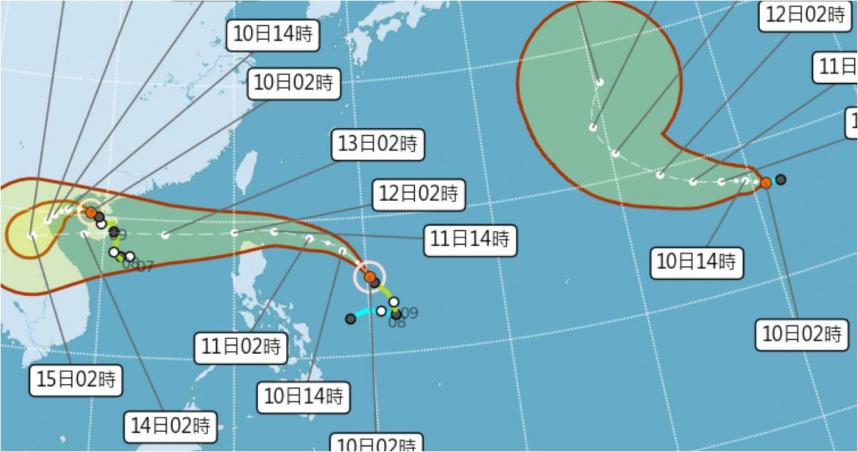 變天了…防圓規颱風「致災性」豪雨 專家:看會不會三颱共舞