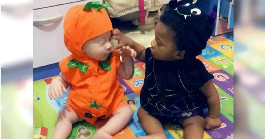 雙胞胎2種顏色!黑人家族生出「全白小孩」 母無奈:大家都不信