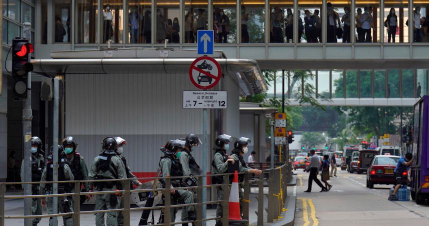 香港現況「豈能由美國定義」? 中國官媒總編痛批「華盛頓太過自戀」