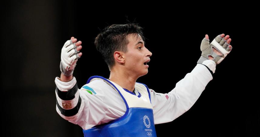 烏茲別克國史上首面跆拳道金牌 冠軍「想獻給上個月逝世的教練」