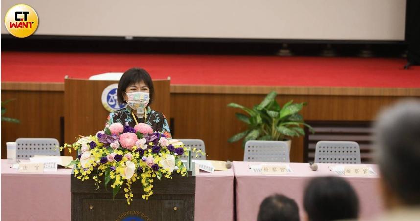 國民法官模擬法庭首見立委到場 葉毓蘭盼提升司法信任度