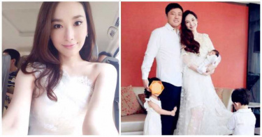 吳佩慈為富豪尪「6年生4寶」!封肚吐心聲:我不再生了 原因曝光