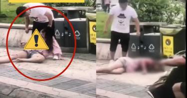20歲少女當街遭狂男「猛捅殘殺」 「殺雞式放血」倒地身亡