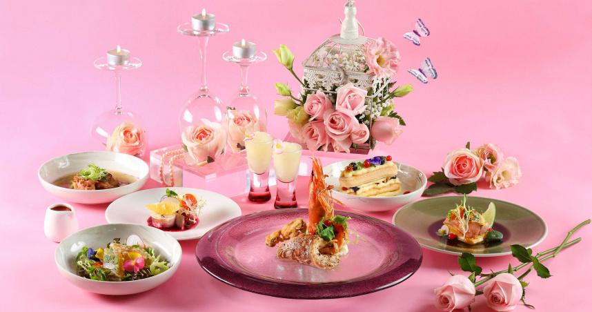 心花朵朵開!春暖花開的季節 約他一起品嘗花漾晚餐、午茶派對吧