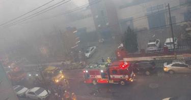 南韓化妝品工廠驚傳爆炸!濃煙烈焰四竄...造成3死6傷
